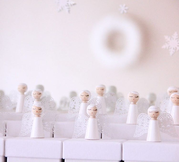 ✨❄️Chorale d'Anges de l'Avent❄️✨ DIY Calendrier de l'avent 2014. Angel choir advent calendar #adventcalendar#christmasdecorations#diy