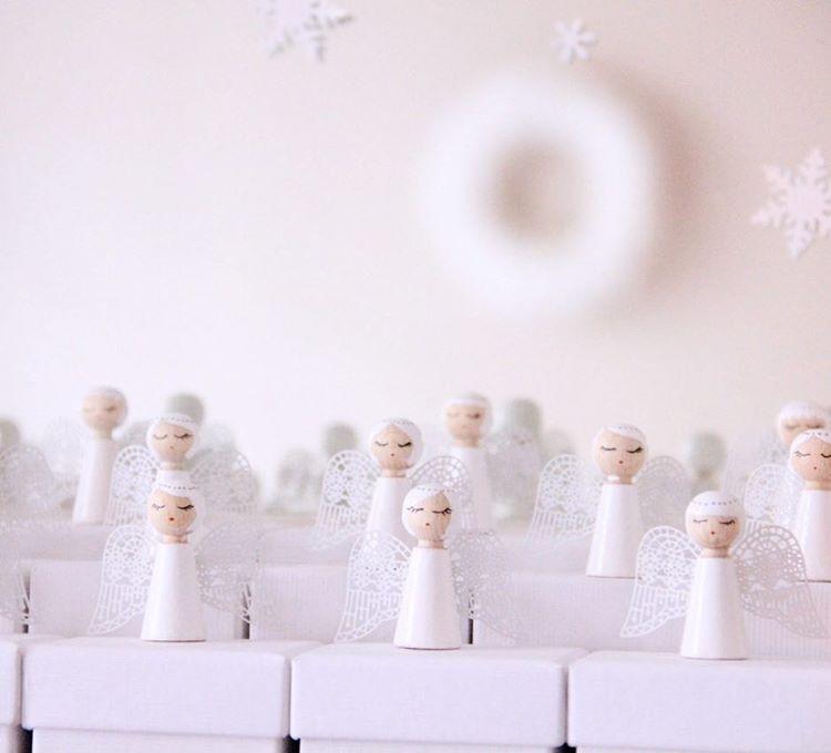 ✨❄️Chorale d'Anges de l'Avent❄️✨ DIY Calendrier de l'avent 2014. Angel choir advent calendar #adventcalendar#christmasdecorations#diy