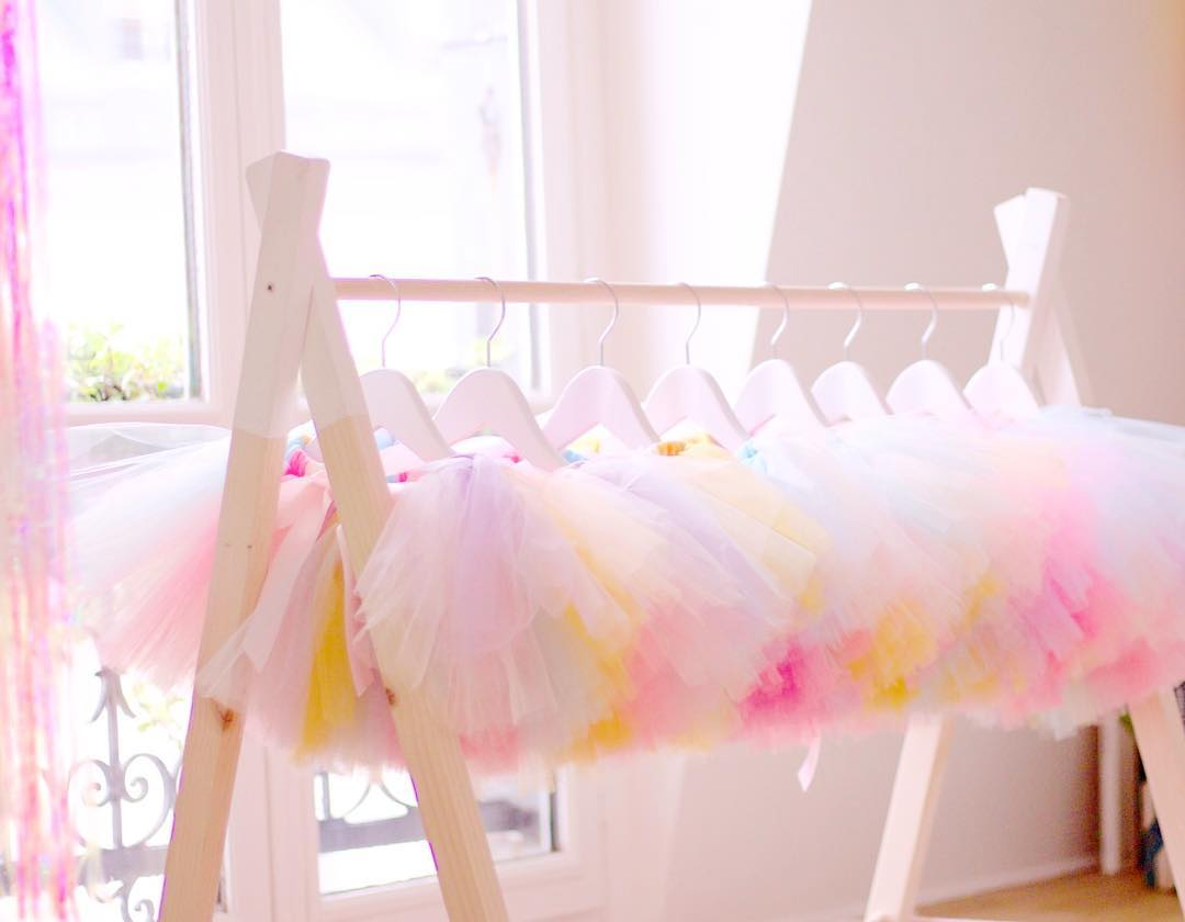 UNICORN TUTUS The Little unicorns needed also some rainbow skirts ☺️ Lovely Pastel rainbow tutu skirts for little unicorns ✨Set design Lili BergmannJulie BergmannTutus by Lili Bergmann Boutique #unicorn #unicornparty #licorne #eventdecor #eventdesign #kidsparty #kidsdecor #rainbow #lilibergmann #lilibergmannstudio
